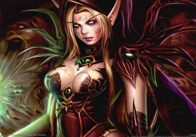 Artwork della ladra Valeera, personaggio del videogioco World of Warcraft