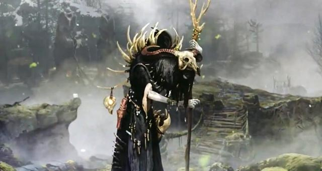 La figura del Revenant, come appare in God of War (2018)
