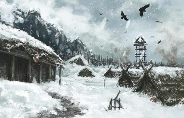 Un villaggio Vikingar di Journey to Ragnarok
