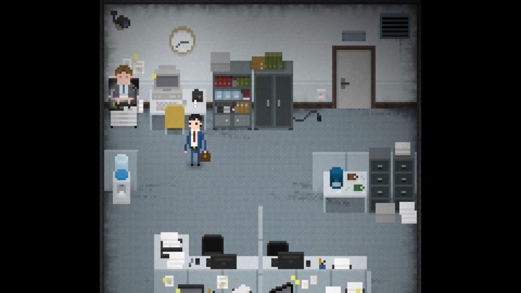 yuppie psycho ufficio di brian