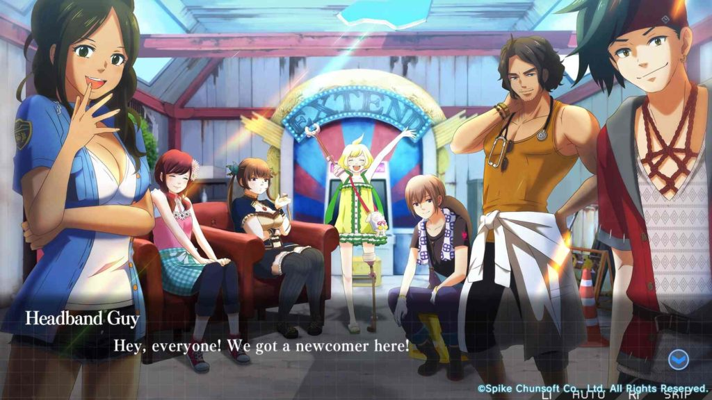 Zanki Zero: Last Beginning characters