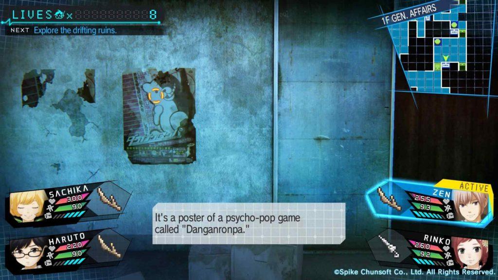 Zanki Zero: Last Beginning gameplay