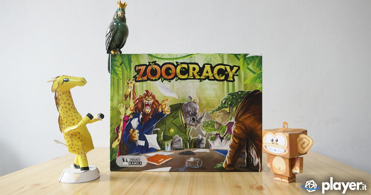 Zoocracy la recensione del gioco da tavolo politico di Haas Games