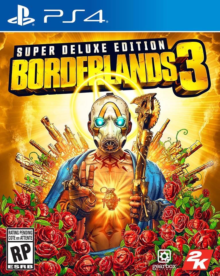 Borderlands 3 super deluxe edition cover