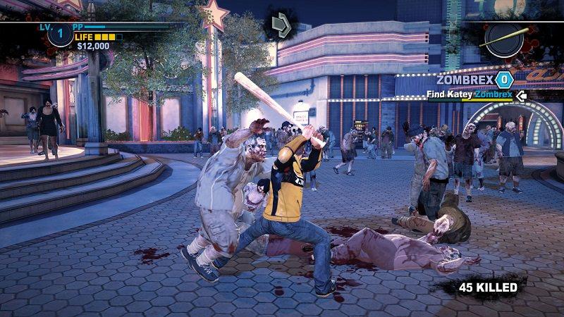 dead rising, gioco splatter con migliaia di zombie