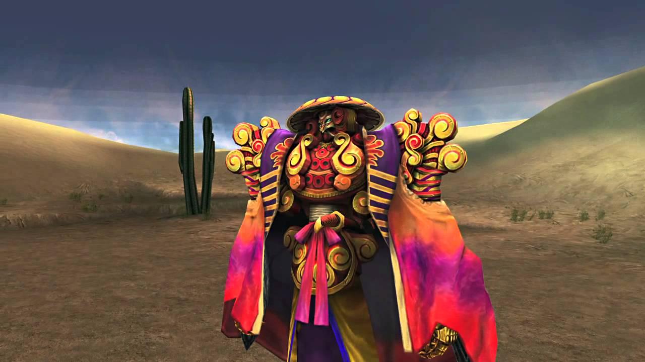 Screenshot di Yojimbo, un Eone di Final Fantasy X che richiedeva un pagamento in Guil per poter essere usato