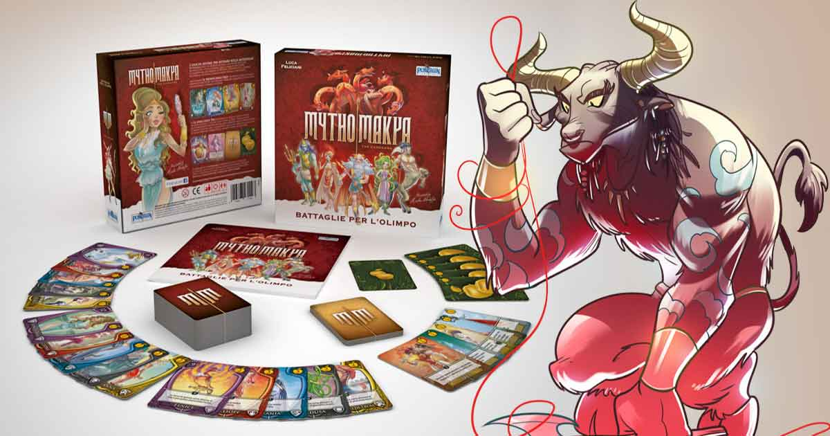 Recensione: Mythomakya the card game