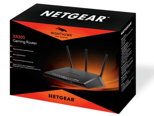 nuovo router netgear nighthawk pro gaming xr300