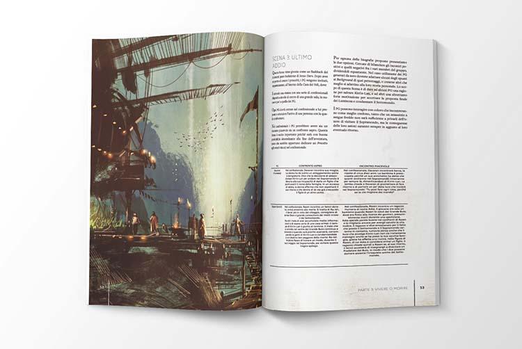 L'avventura descritta nel manuale di Luce e Ombra