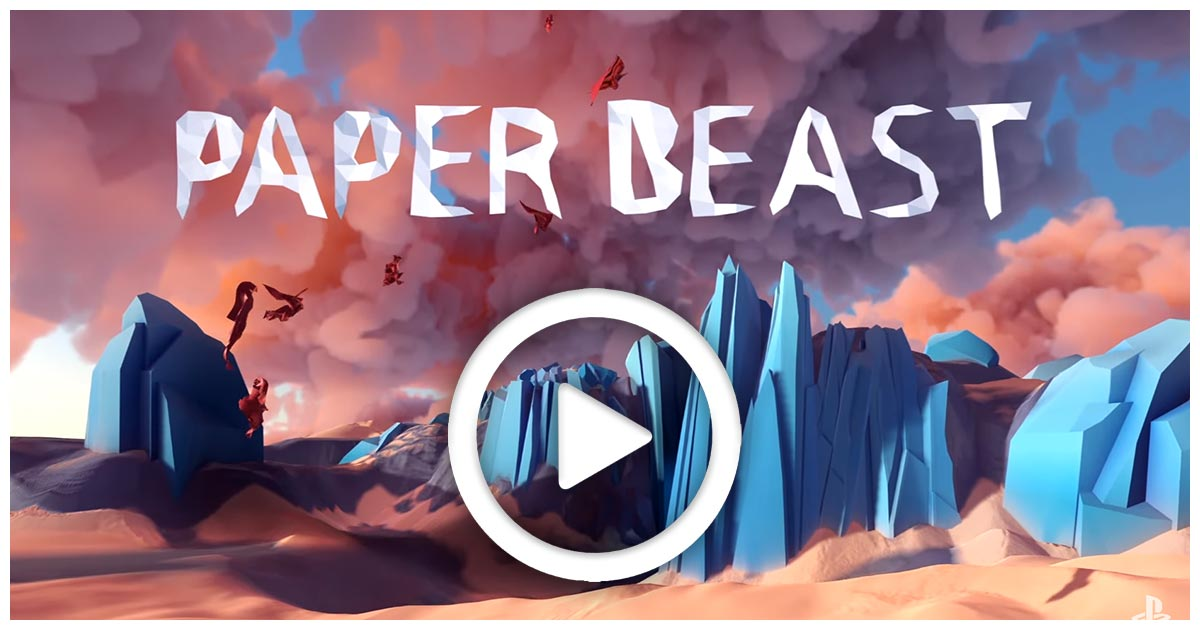 paper beast, nuovo gioco del designer di another world