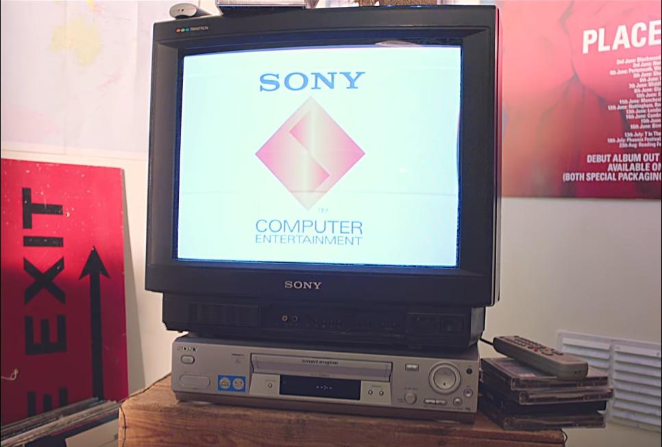 schermata iniziale della prima playstation