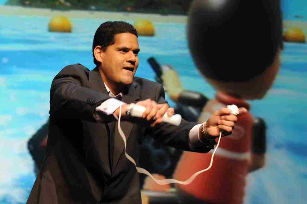 Reggie Fils Aime Wii