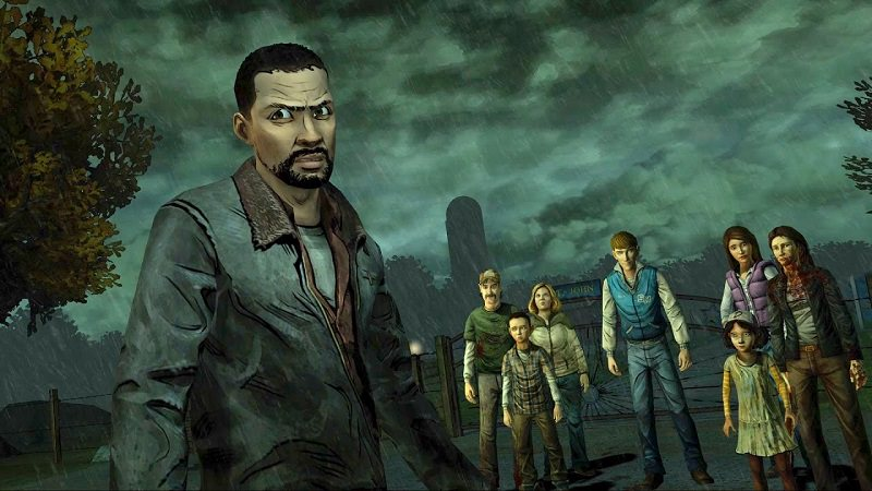 the walking dead, gioco tratto dalla serie tv