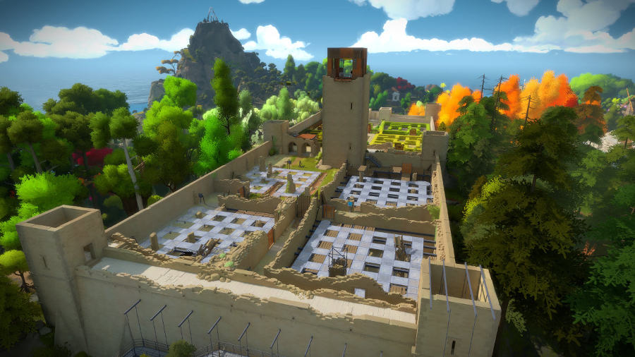 the witness epic games store puzzle game myst quern