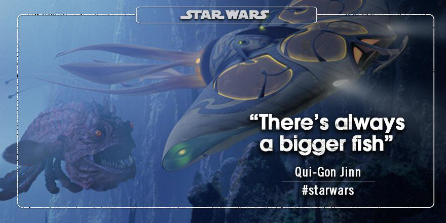 Qui Gon Jinn quote dungeon master pagamento
