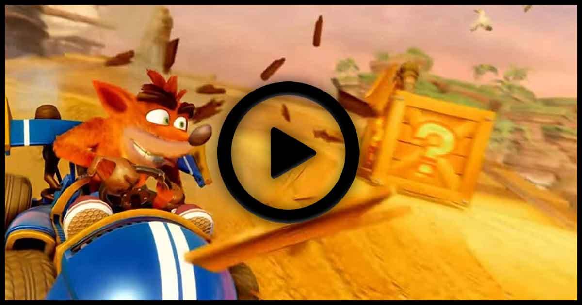 Crash Team Racing Nitro-Fueled, la personalizzazione in un video