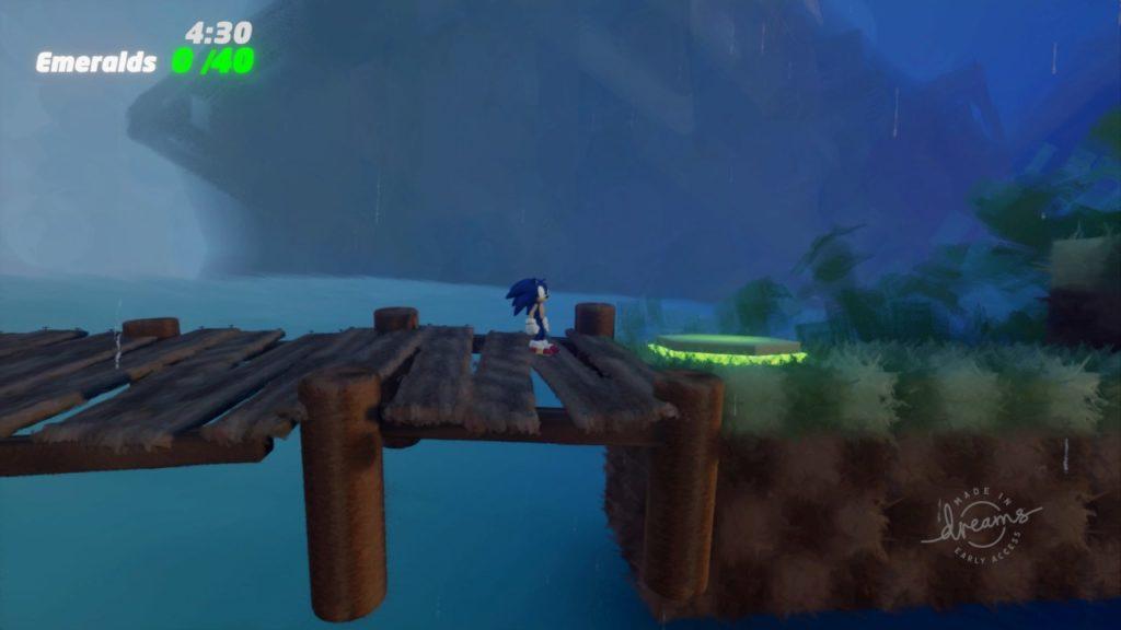 Sonic ricreato in dreams