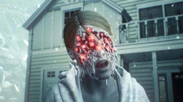 Gli occhi rossi di Myra Castellanos in The Evil Within 2