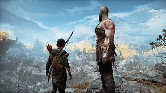 Il viaggio di Kratos e Atreus