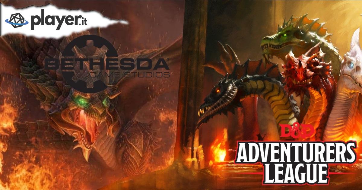 La Bethesda plagia un'avventura della Adventures League di D&D