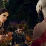 Kratos, Atreus e Freya soccorrono il povero cinghiale abbattuto da una freccia