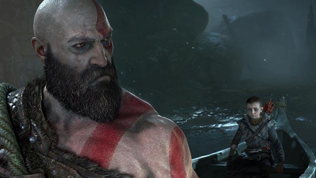 Kratos e Atreus nel loro viaggio verso il monte più alto
