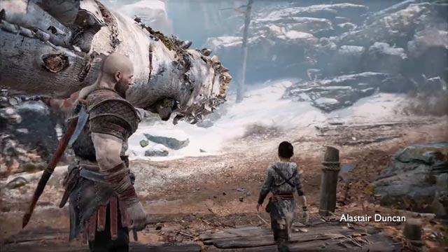 Kratos il boscaiolo