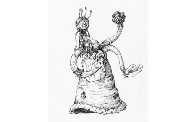 La grande razza di Yith, scaturita dalla penna di H.P. Lovecraft
