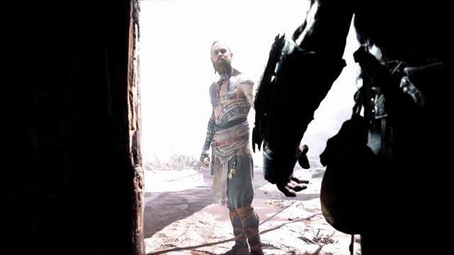 Lo sconosciuto bussa alla porta di Kratos