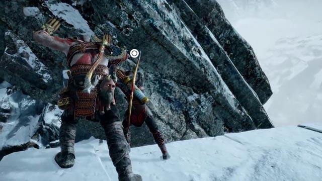 Mimir accompagna Kratos e Atreus nel loro viaggio attraverso i Nove Mondi
