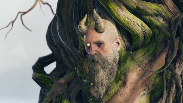 Mimir, condannato a Odino a restare intrappolato in un albero