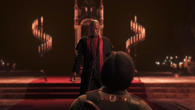 Padre Theodore Wallace come appare in The Evil Within 2