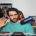 Screenshot da una trasmissione di Hasan
