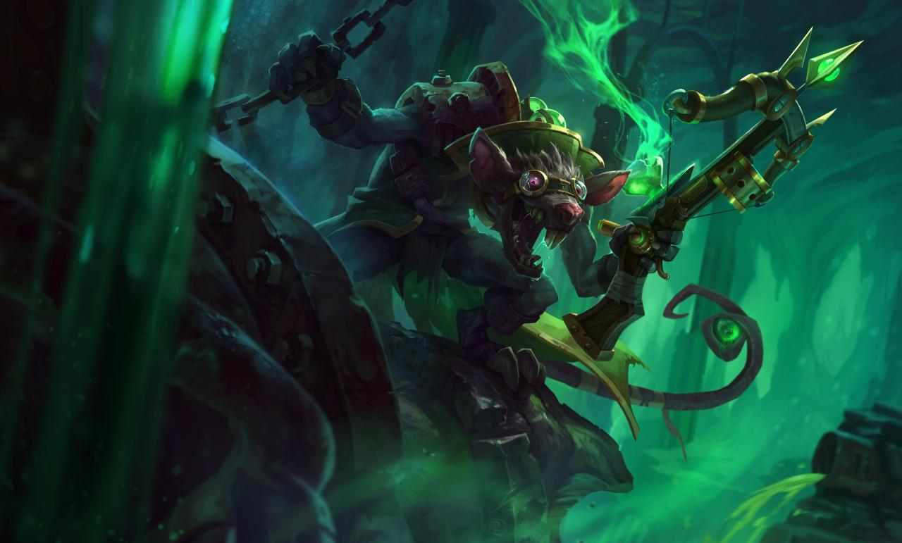 Artwork di Twitch, personaggio di League of Legends