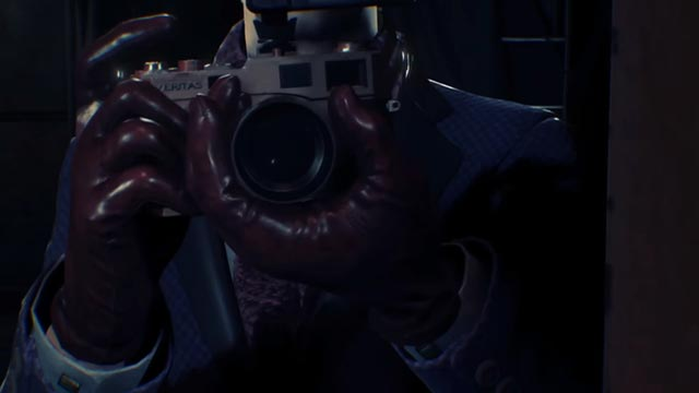 L'artista e fotografo Stefano Valentini in The Evil Within 2