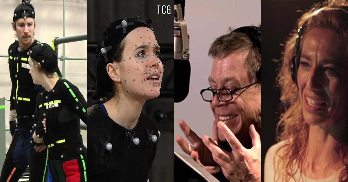 Fotografia di alcune delle performance più famose di voice actors in videogiochi