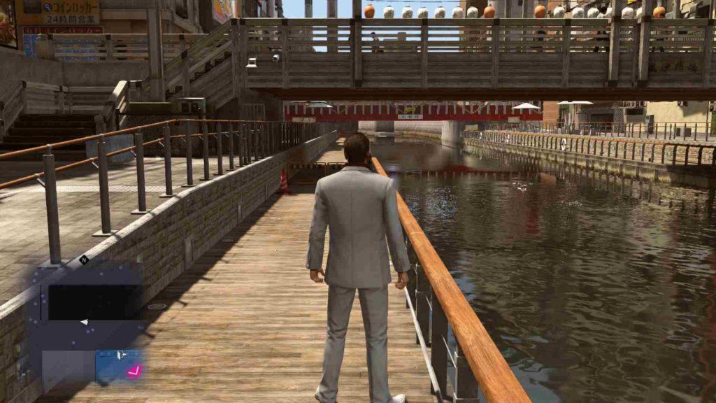 Yakuza Kiwami 2 river