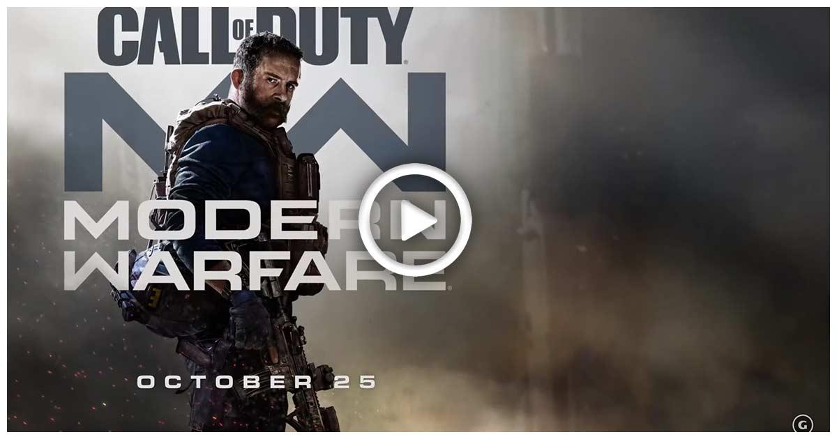 call of duty modern warfare screenshot trailer