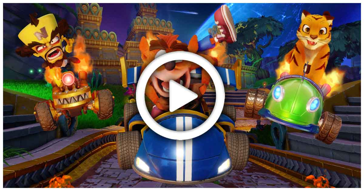 CTR Nitro Fueled | Svelata la cinematic del gioco