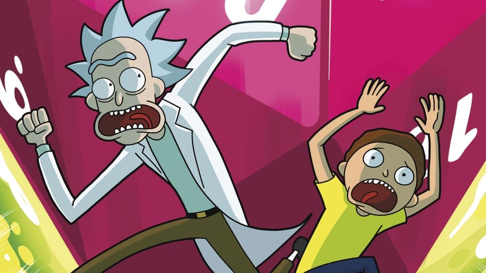 Annuncio Rick & Morty Tabletop Roleplaying Adventure