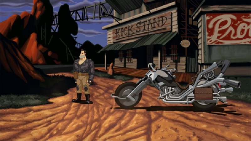 full throttle, avventura grafica lucasarts