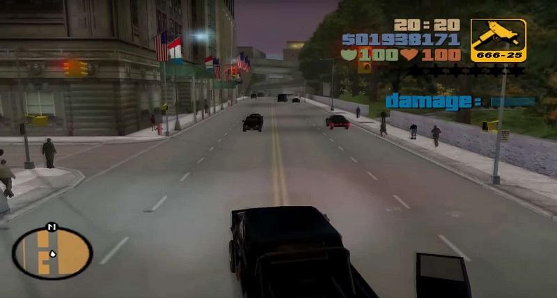 giochi usciti nel 2001, GTA III