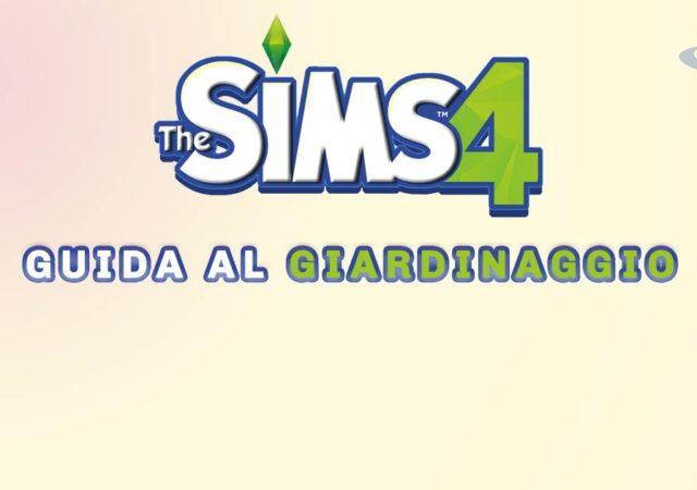 guida al giardinaggio di the sims 4