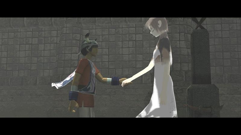ico e yorda, i protagonisti del gioco