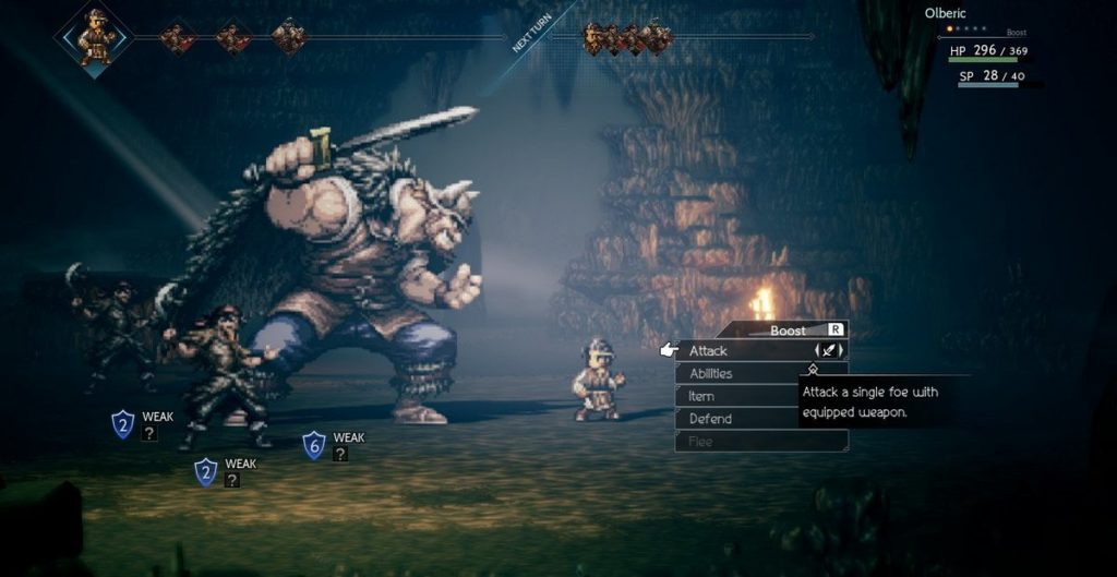 Octopath Travaler Square Enix