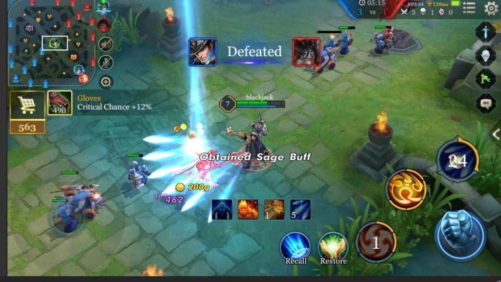 arena of valor gameplay