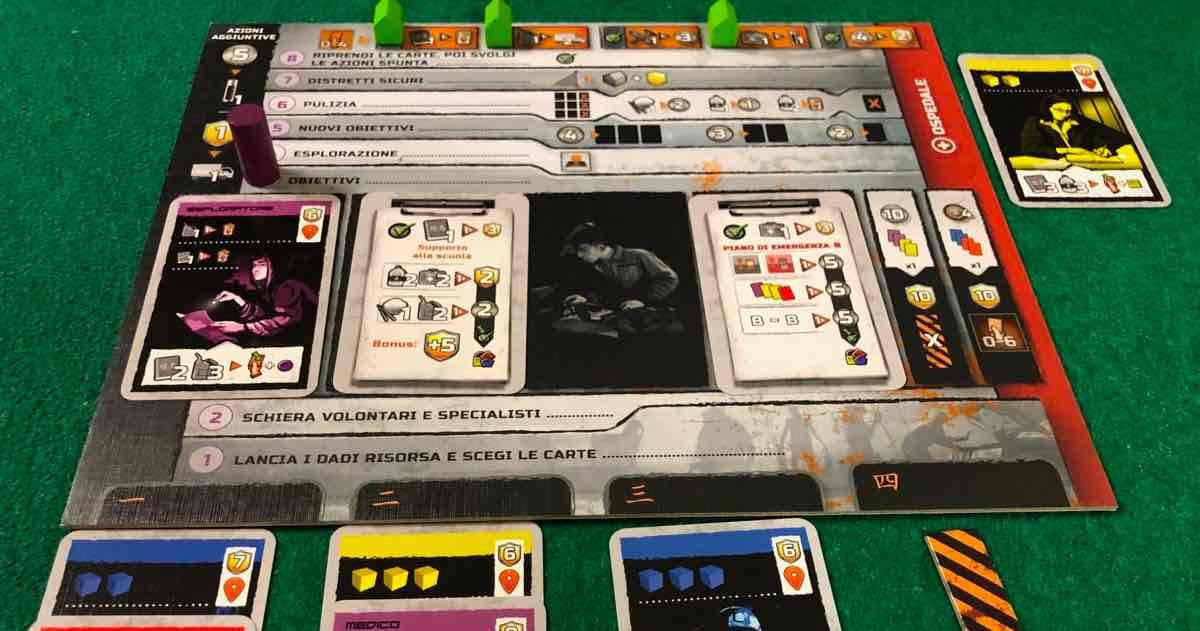 Blackout: Hong Kong - Plancia Giocatore