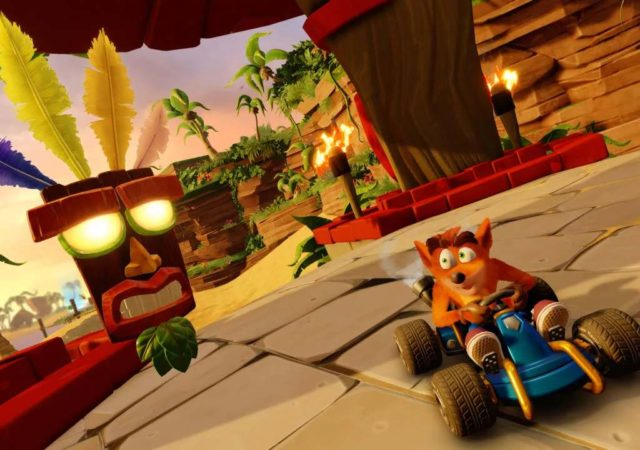 crash team racing nitro fueled gameplay screenshot