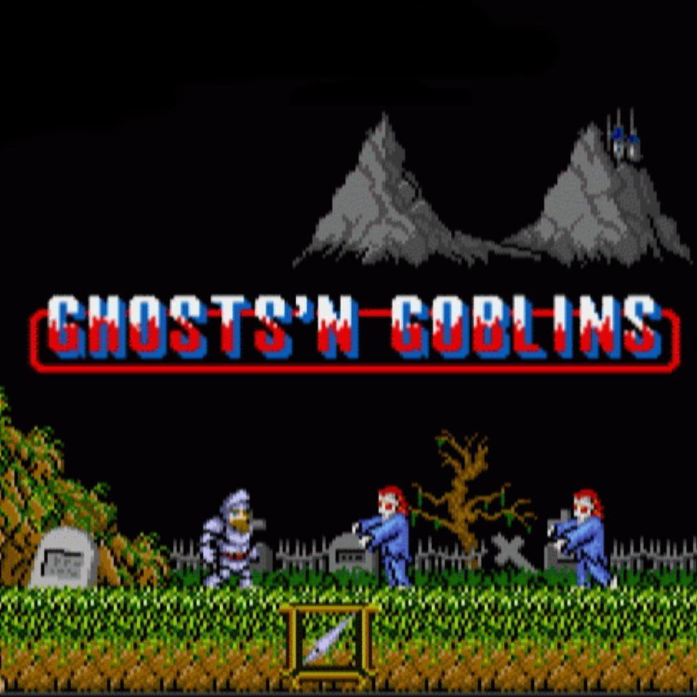 ghost n goblins title screen