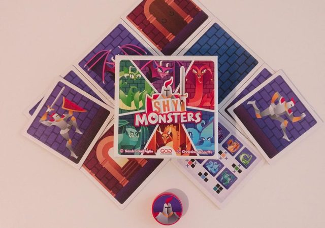Shy Monsters Box and Components